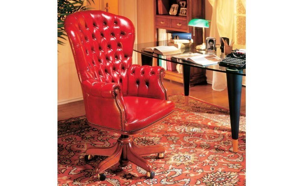Офисное Кресло В Коже